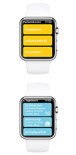 Apple Watch Tagebuch