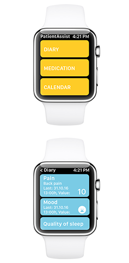 AppleWatch diary