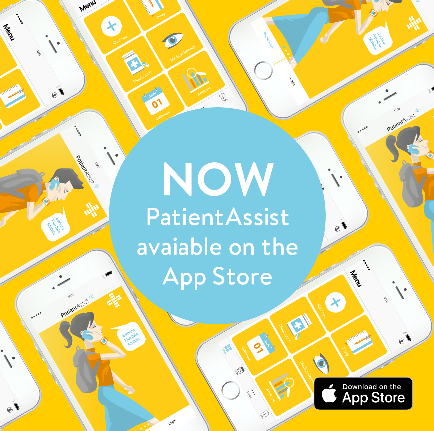 Now PatientAssist avaiable on the App Store